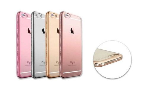 Telefontok iPhone7/8 Plus  - gold Lumann Elegant Diamond tok