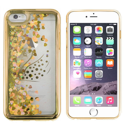Telefontok iPhone 7/8  - Cool Skin Liquid  Swan arany