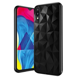 Telefontok Samsung Galaxy A70 - Forcell PRISM fekete szilikon tok