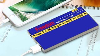 Powerbank: Remax RPP-68 kék power bank 5000mAh