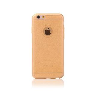 df111bff08 Telefontok iPhone 6/6s - Csillogós gold szilikon tok